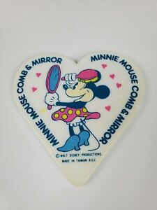 Vintage-Walt-Disney-Productions-Minnie-Mouse-Comb-amp-Mirror-Mirror-only