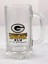Green Bay Packers Beer mug Super Bowl XLV champions