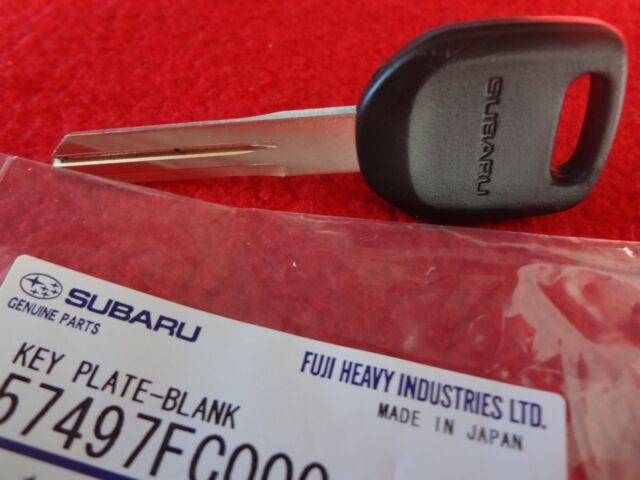 Subaru Master Key Blank WRX Impreza Forester Outback Legacy Baja OEM USA SELLER