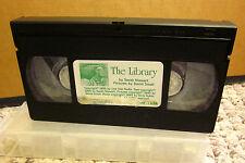 LIBRARY adaptation Sarah Stewart & David Small kids video 1996 reading VHS books