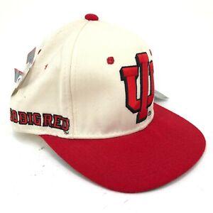 Vintage-Indiana-Hoosiers-Sports-Specialties-Lana-Gorra-Ajustada-Logo-Dorso-Texto
