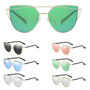 lunettes de soleil Femme CAT EYES Vintage Élégant Divers Coloris à la mode+