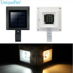 solar 12leds dachrinnen leuchten lampen hausbeleuchtung au en garten beleuchtung ebay. Black Bedroom Furniture Sets. Home Design Ideas