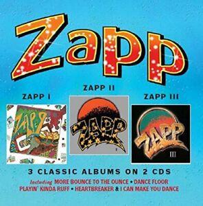 ZAPP-Zapp-I-Zapp-II-Zapp-III-3-Classic-Albums-on-2CDs-Deluxe-CD