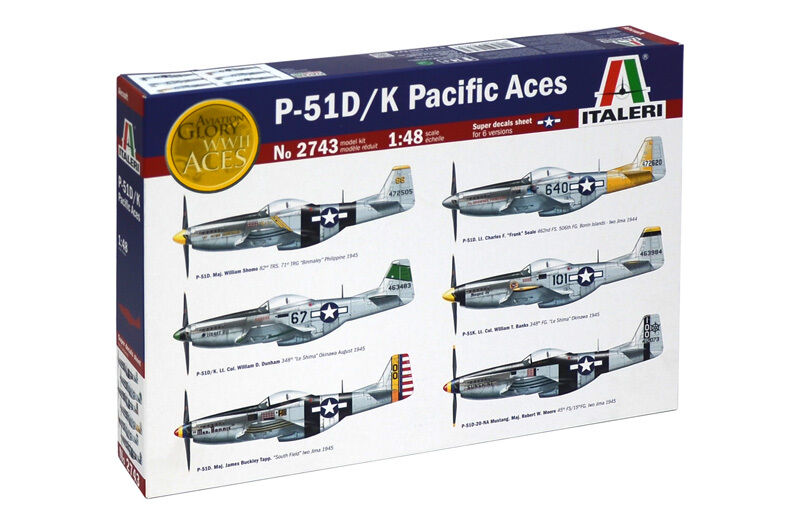 P51 D K PACIFIC ACES ACES ACES 1 48 Italeri caebcf