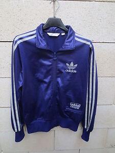 Veste ADIDAS CHILE 62 violet rétro vintage tracktop jacket