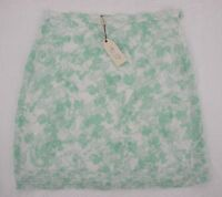 Mssp Green White Skirt Size 10 Max Studio Specialty Products Srp $88