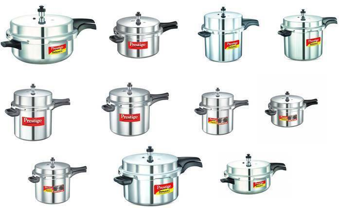 Prestige  Pressure Cookers  Outer Lid  Senior  Aluminium  Choose From 11