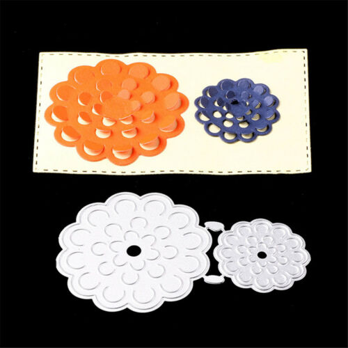 Flower Tags Framed DIY Embossing Metal Cutting Dies Paper Cards Crafts HC