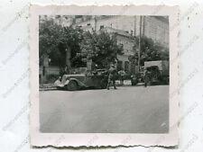 Foto, Wehrmacht, PKW, Strassenszene in Simferopol, Russland (W)1050