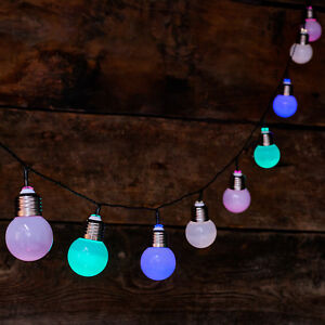 10-LED-Solar-Powered-Silver-Screw-Bulb-String-Light-Festoon-Garden-Outdoor-Lamp