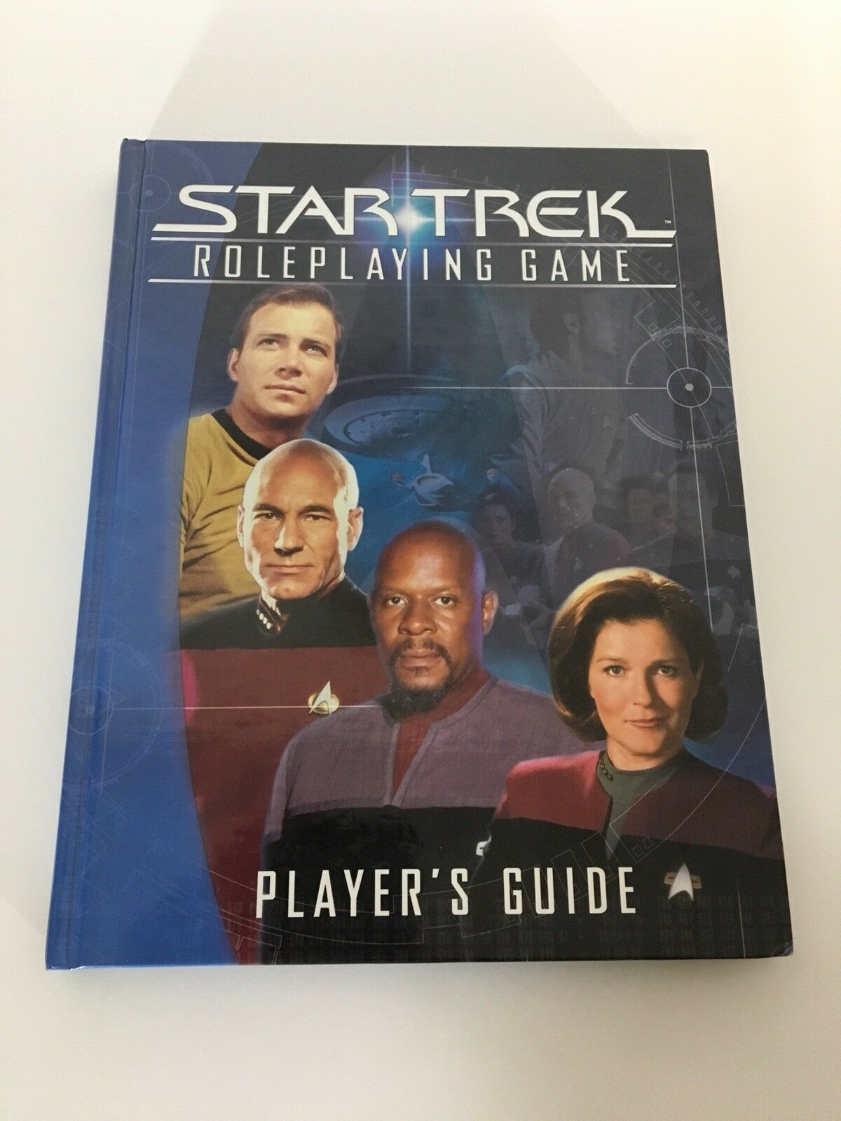 Star Trek Player's Guide Hardcover HC Decipher Role Playing Game RPG Book 2002