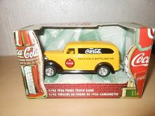 "1/43 SCALE ERTL  ""COCA-COLA"" 1936 FORD PANEL TRUCK BANK  NIB"