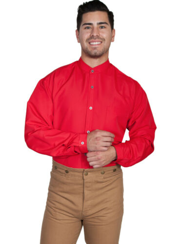 Scully Wahmaker Men/'s Polyester Solid Long Sleeve Shirt 541321
