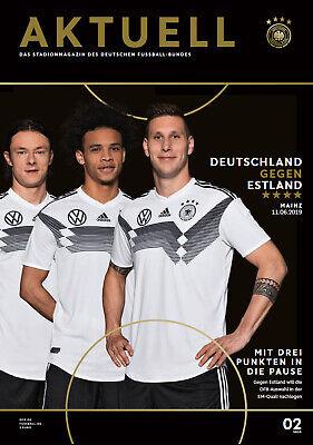 11.06.2019 Deutschland - Estland In Mainz, Em-qualifikation