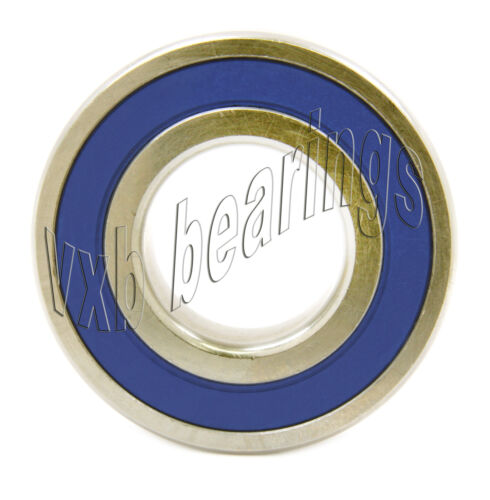 6000RS 10x26x8 Sealed 10mm//26mm//8mm Deep Groove Radial Ball Bearings