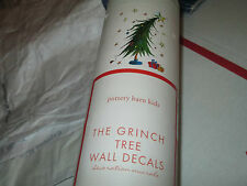 Pottery Barn Grinch Christmas Holiday Tree  wall decal   New