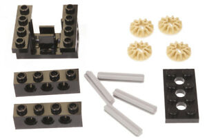 LEGO-Technik-Getriebebox-inkl-Teile-fuer-3-Getriebe-Varianten-6585-NEUWARE