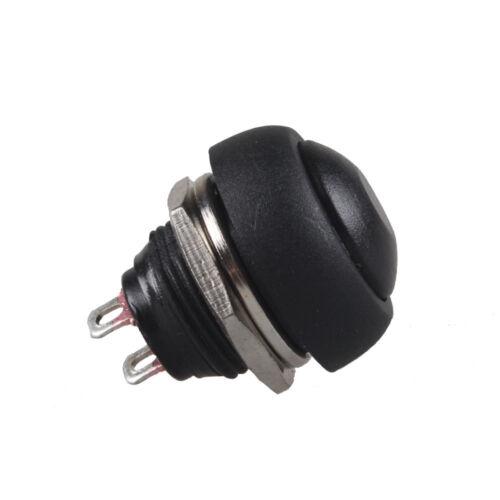 10 Stk 12mm Mini Momentary Klingelknopf Drucktaster Taster Druckschalter