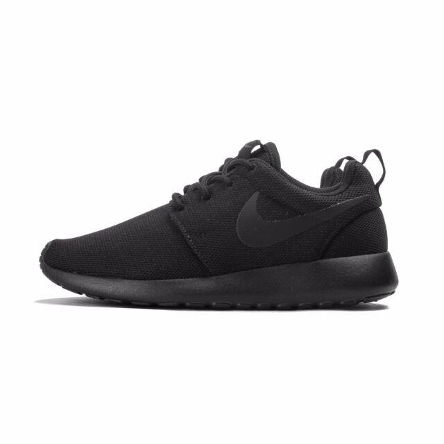 3bd1748430df Nike Women s Roshe One Black black dark Grey Running Shoe 12 Women ...