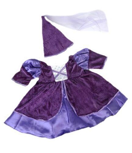 Build a 40cm Luxus Samt Stil violett medievalprincess Kleid für 15-16