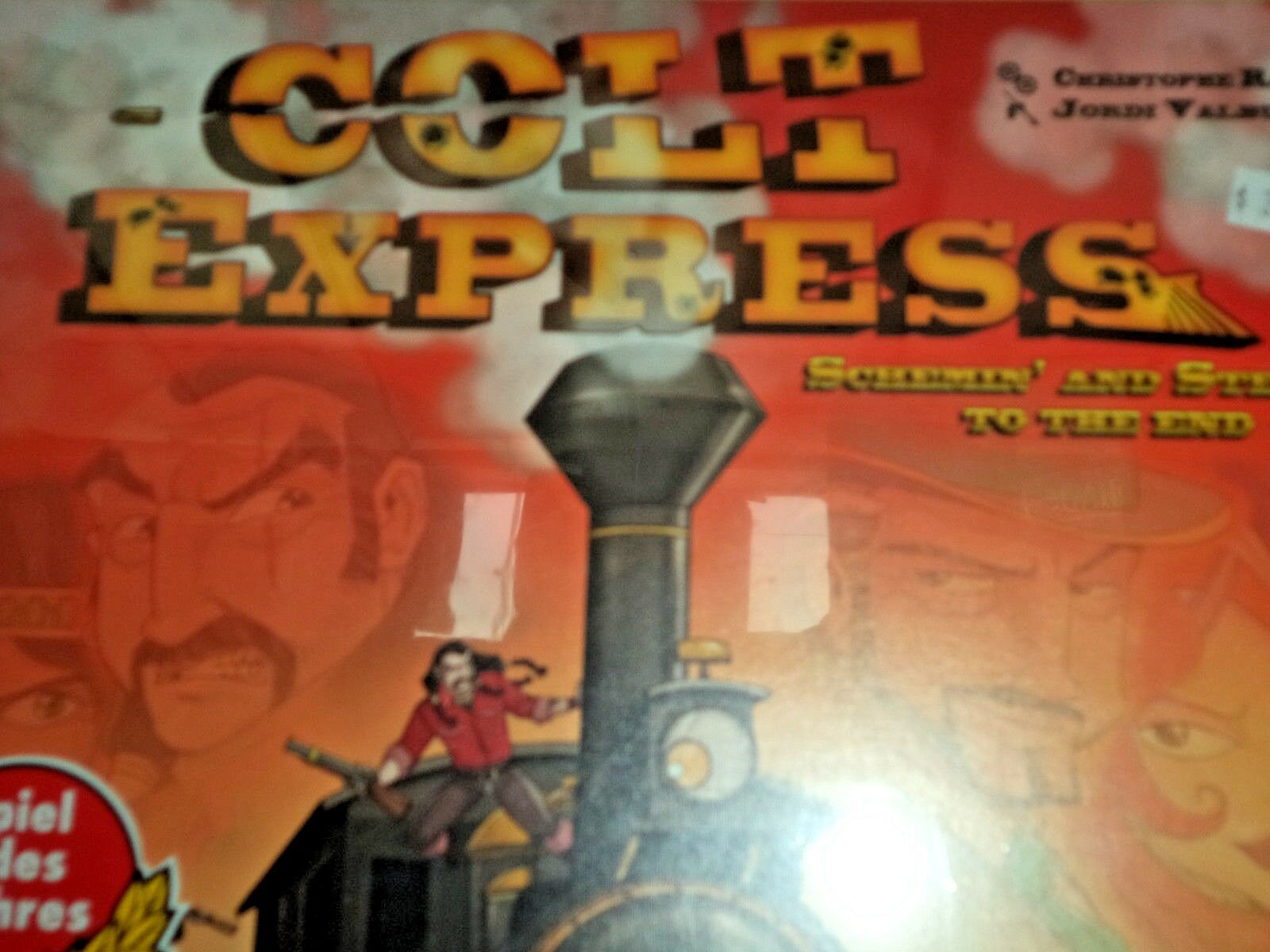 Colt Express - Asmodee Games Board Game Game Game New  da8ee1