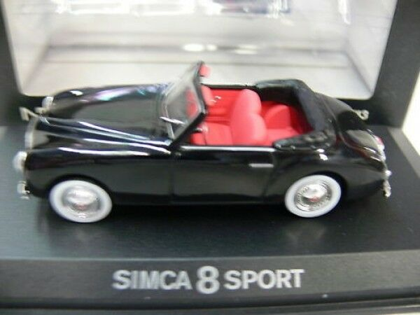 1 43 norev Simca 8 deporte negro negro negro con capota 570820 0fcabf