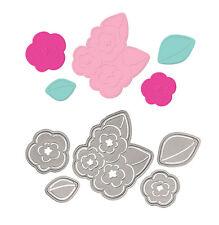 "Quickutz//Lifestyle Crafts DC-0250  /""Petite Petals/""  2 Cutting Dies  NEW"