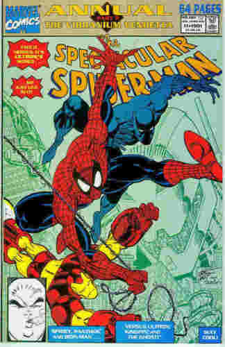 Peter Parker Spectacular Spiderman Annual # 11 USA, 1991