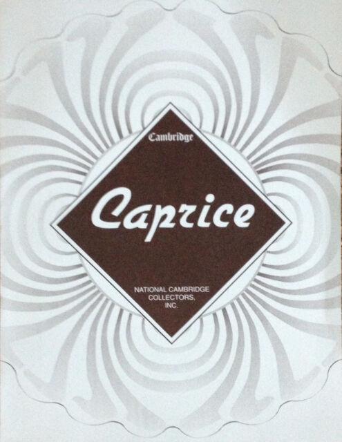 BOOK:  Cambridge CAPRICE