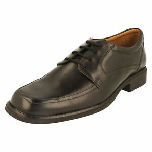 293ee106 Details about SALE MENS CLARKS BLACK LEATHER LACE UP SMAR FORMAL OFFICE  SHOES HOLD SPRING