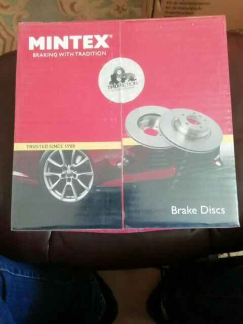 Rear Brake Discs x2 270.9mm Diameter Solid 11mm Thickness Mintex MDC2358