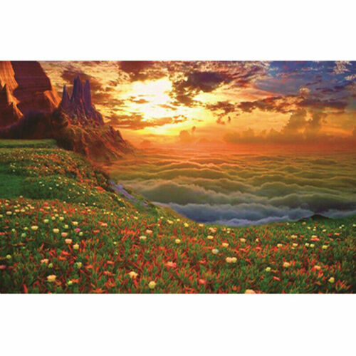DIY 5D Diamond Painting Sunset Beach Embroidery Cross Stitch Crafts Home Wall