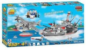 COBI-gt-Small-Army-gt-Navy-gt-Harbour-Patrol-Builder-Set-450