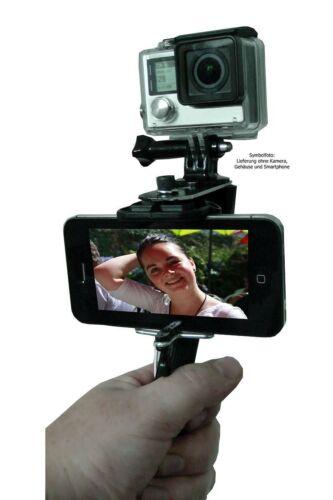 Net4web-Display soporte para GoPro bundle con selfiestick y mano de las articulaciones Correa