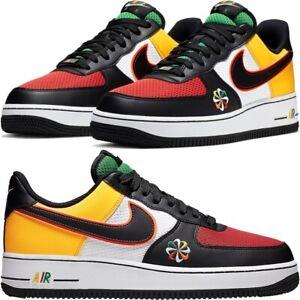 """Nike Air Force 1 '07 Lv8 """"Sunburst"""" WhiteBlack Lucid Green"""