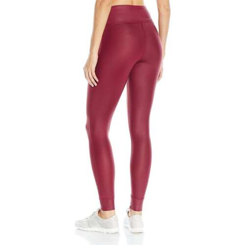 Reebok Women Studio Lux Regular Fit Polyester Sports Gym Leggings NEW