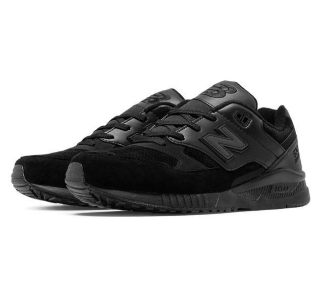 Nuevo Balance Hombre Zapatos M530BAA 27.4ms Atletismo Remix 530 Negro Perf