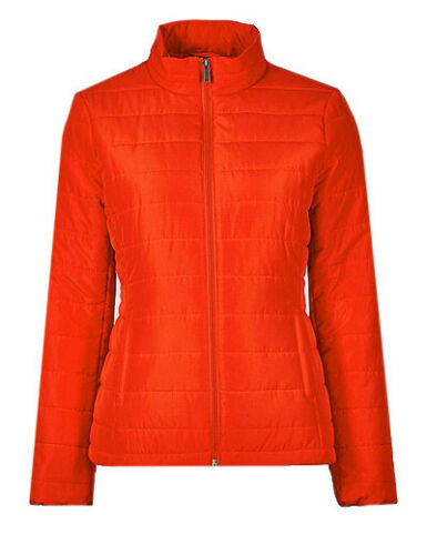 Ex Marks and Spencer Red Padded Jacket Size 10-16