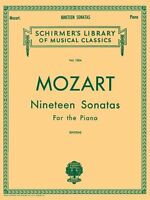 Mozart 19 Sonatas - Complete: Piano Solo (schirmer`s Library Of Musical Classics on sale