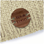 Personalize Walnut CIRCLE Tags 20mmx20mm Wooden Handmade Knitted Crochet