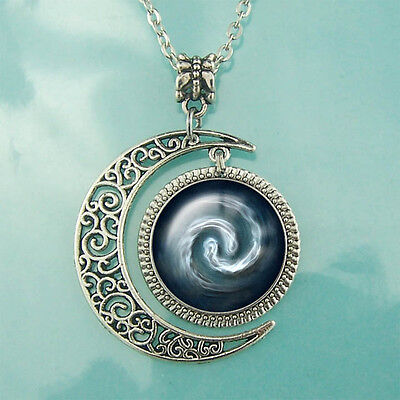 Avatar the Last Airbender Pendant Air Nomad Necklace Moon Jewelry Blessed Gift