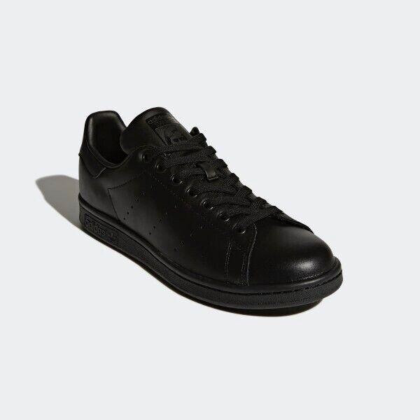Adidas Originals Stan Smith shoes Men's Size 11.5 M20327 Core Black NEW