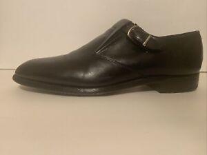 JOHNSTON MURPHY Aristocraft USA Black Leather Wingtip Oxford Dress Shoes 10. D