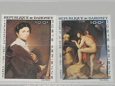 Haben Sie Einen Fragenden Verstand Dohemey 1967 307-8 C49-50 Paintings By Ingres Mnh Art Motive Kunst & Kultur