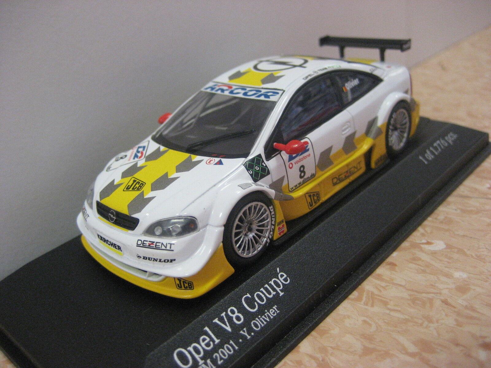 para mayoristas Opel v8 Coupe DTM DTM DTM 2001 y. olivier  8 1 43 Minichamps nuevo & OVP  comprar marca