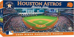 Astros Stadium >> Details About Houston Astros Stadium Panoramic Jigsaw Puzzle Nhl 1000 Pc Minute Maid Park