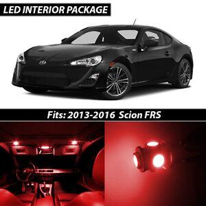 2013 2016 Scion Fr S Red Interior Led Lights Package Kit Frs Ebay