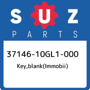 37146-10GL1-000-Suzuki-Key-blank-immobii-3714610GL1000-New-Genuine-OEM-Part