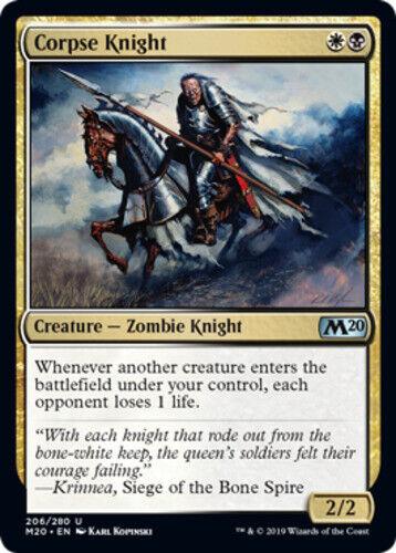 4x Corpse Knight NM-Mint English Core Set 2020 MTG Magic